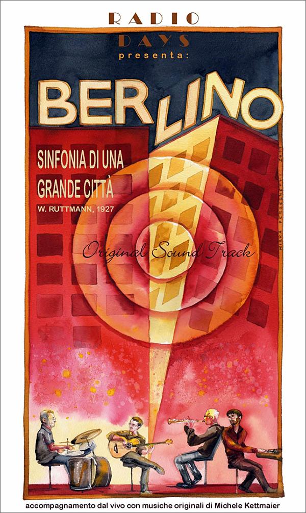 BERLINO - locandina di Mirca Perseghetti