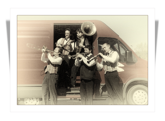 Radio Days Dixieland band