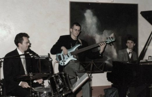il primo trio all'Hotel Trento - 1996