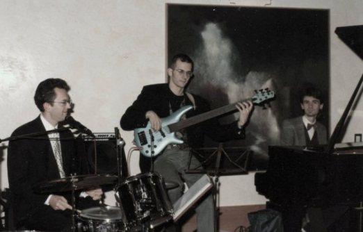 il primo trio all'Hotel Trento - 1996