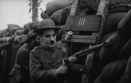 Charlot soldato - 1918