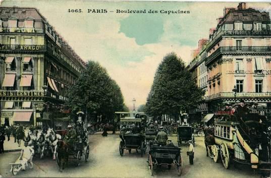 PARIS Boulevard des Capucines