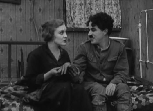 Charlie Chaplin ed Edna Pruviance