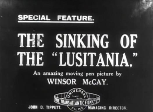 The Sinking of the Lusitania - titolo