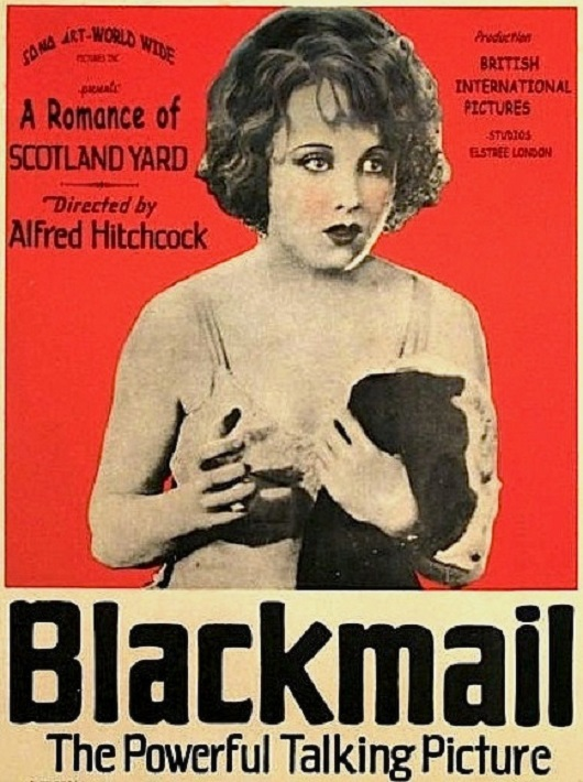 Blackmail-locandina